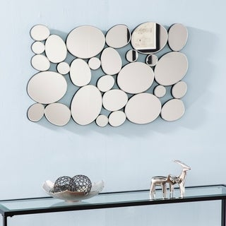 Silver Orchid Bech Mirrored Wall Sculpture