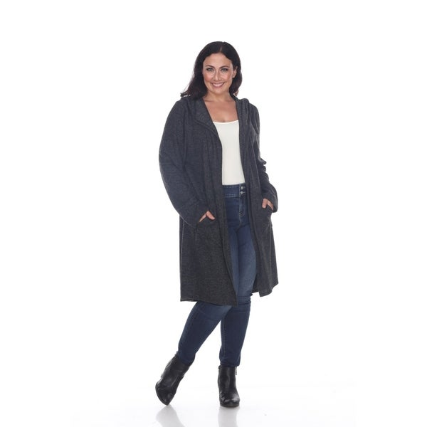 a4d4617fca0 Shop White Mark Plus Size Womens North Cardigan - On Sale - Free ...