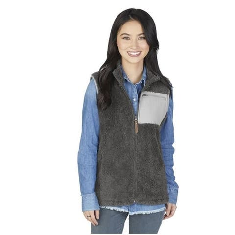 Charles River Apparel Women's Newport Vest, Grey
