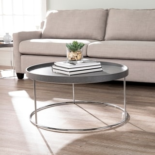 Silver Orchid Hinding Grey Coffee Table