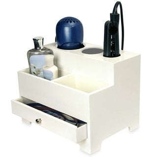 OnDisplay Makayla Deluxe Hair Tool and Accessory Organization Station