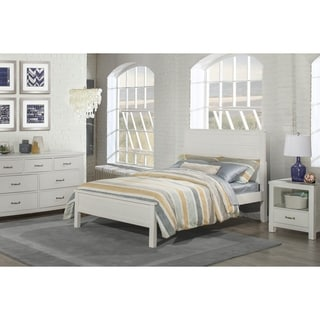 Hillsdale Kids and Teen Highlands Alex White Pine Full Flat Panel Bed