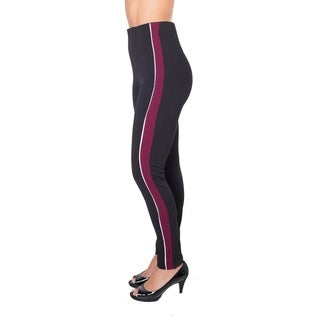 Ladies Side Stripe Leggings Pants