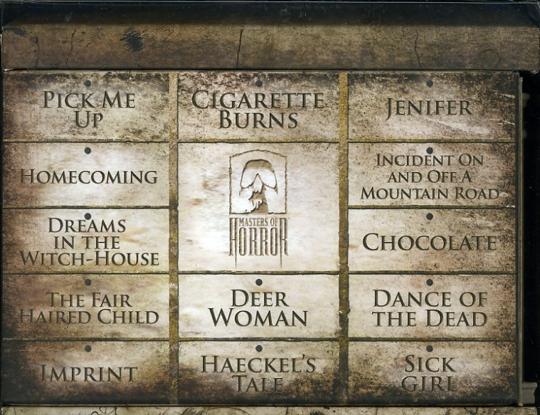 Masters Of Horror: Season One Box Set (DVD)