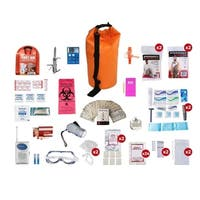 2 Person Deluxe Survival Kit (72 Hours) Dry Bag