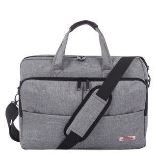 Swiss Mobility Sterling Slim Briefcase - Polyester