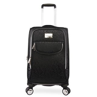 Bebe Carissa 21-inch Softside Spinner Suitcase