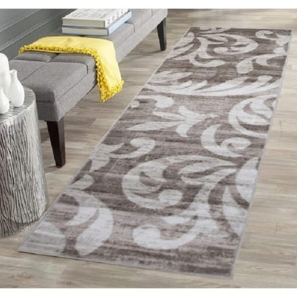Knoxville Area Rug F 7510 Taupe-Cream 3' x 8' - 3' x 8'