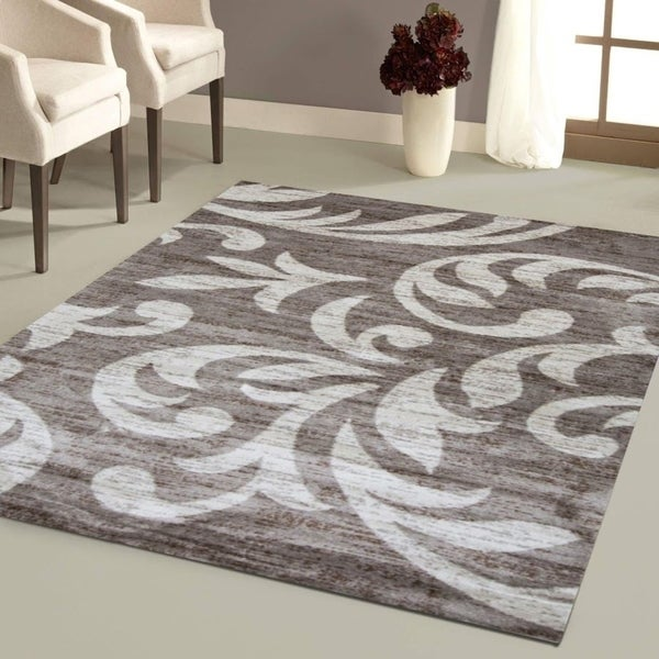 Knoxville Area Rug F 7510 Taupe-Cream 5' x 7' - 5' x 7'