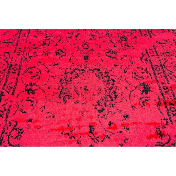 Jaime Red Area Rug 5 X 7