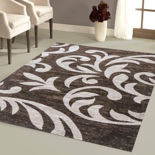 Knoxville Area Rug F 7510 Brown-Beige 2' x 3' - 2' x 3'