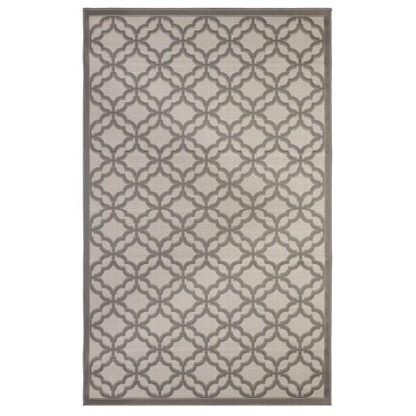 Festival Light Grey/Anthracite Flatweave Indoor/Outdoor Rug - 8'10 x 11'9