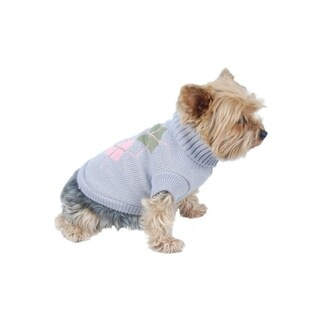 Anima Multi-color Argyle Sweater for Pets Dogs Puppy