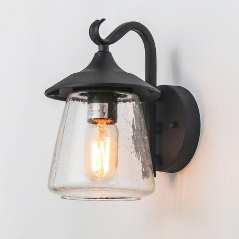 """LNC 1-Light Outdoor Wall Lights Fixture Traditional Porch Patio Wall Sconces - W 6.25""""x H 9.8 """"x E 7.9"""""""