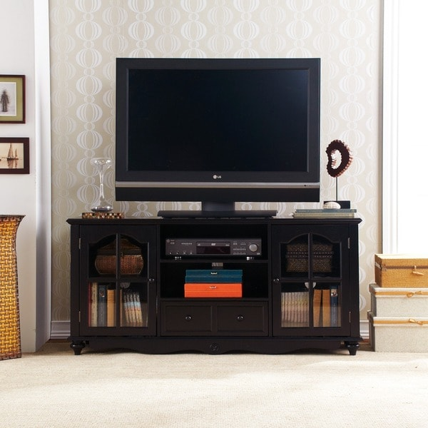 Harper Blvd Hanover Black Entertainment Center Cabinet