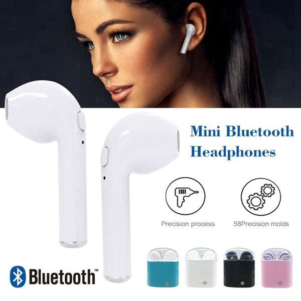 Shop Hbq I7 Tws Wireless Earbuds Mini Bluetooth Headset Earphone With Charging Box On Sale Overstock 25454882