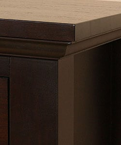 Waynesborough Dark Espresso 3-drawer Nightstand