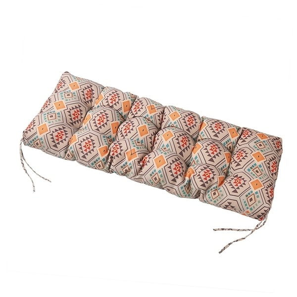 LNC Tufted Indoor Outdoor Seat Chair Cushions Patio Bench Cushion