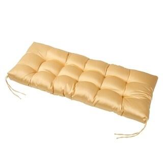 LNC Tufted Indoor Seat Cushions Chair Cushion Bench Cushion Yellow - N/A
