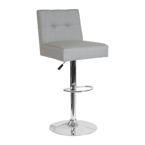 Shop Offex Contemporary Adjustable Height Swivel Barstool