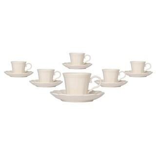 Classic White Espresso C/S Set 4oz Set of 6