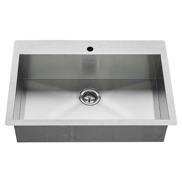 Shop American Standard Edgewater 33x22 Stainless Steel