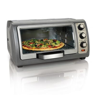Hamilton Beach Easy Reach 6-slice Toaster Oven