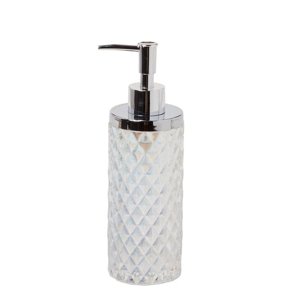 Shop Skl Home Frosted Lotion Dispenser Free Shipping On