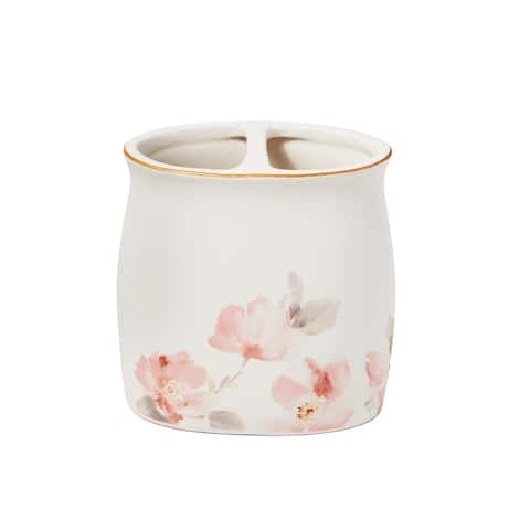 SKL Home Misty Floral Toothbrush Holder