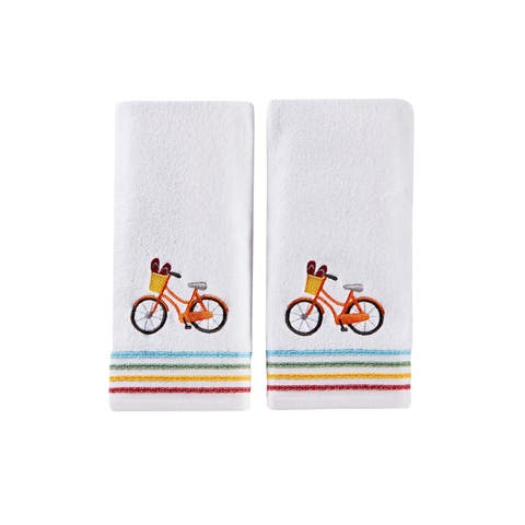 SKL Home Paradise Beach 2 Pc Hand Towel Set