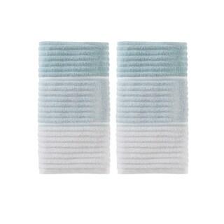 SKL Home Planet Ombre 2 Pc Hand Towel Set in Aqua