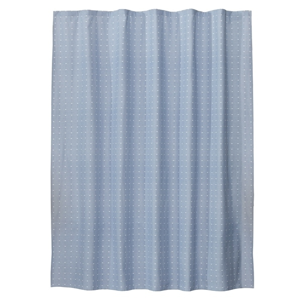 Shop Skl Home Chambray Squares Shower Curtain Free