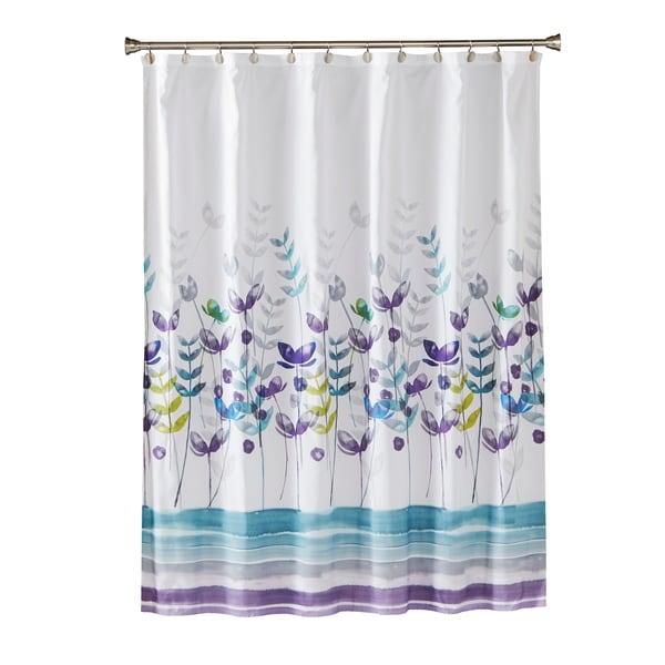 Shop SKL Home Watercolor Meadows Shower Curtain
