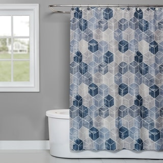 SKL Home Cubes Shower Curtain
