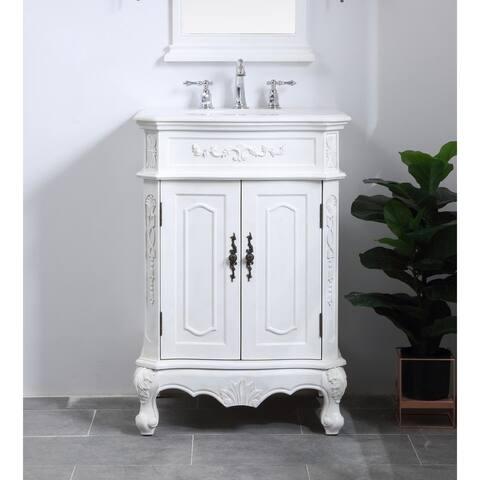 27 in. Single Bathroom Vanity set