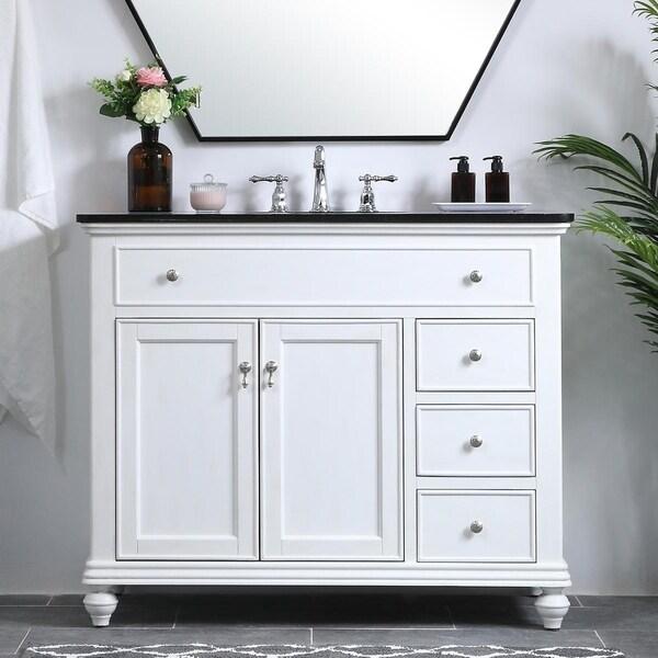 42 in. Single Bathroom Vanity set