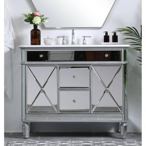 42 in. Single Bathroom Vanity set in