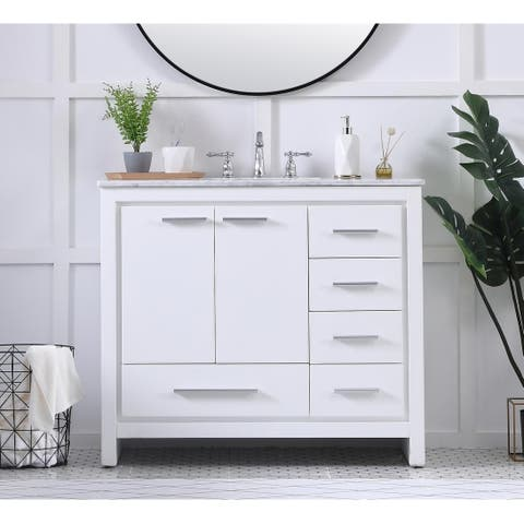 40 in. Single Bathroom Vanity set
