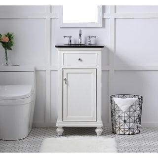 19 in. Single Bathroom Vanity set