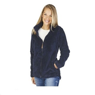 Charles River Newport Full Zip Fleece Jacket, Navy