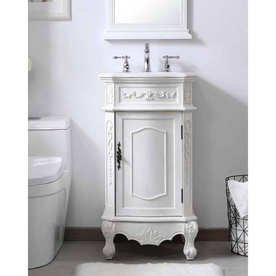 19 In Single Bathroom Vanity Set