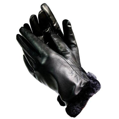 b7728d9caa0d3 Black Gloves | Find Great Accessories Deals Shopping at Overstock