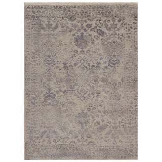 Handmade Mahi Tabriz Wool Rug (India) - 3' x 5'6