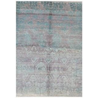Handmade Mahal Wool Rug (India) - 9'9 x 13'6