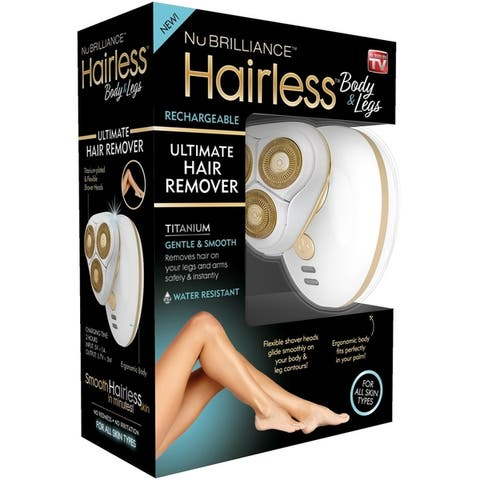 Nubrilliance Hairless Legs & Body Ultimate Hair Remover - White