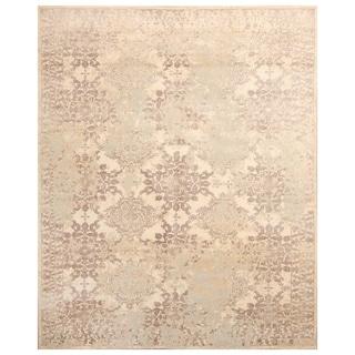 Handmade Mahi Tabriz Wool Rug (India) - 4'1 x 6'3