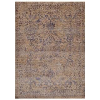 Handmade Mahi Tabriz Wool Rug (India) - 4' x 6'