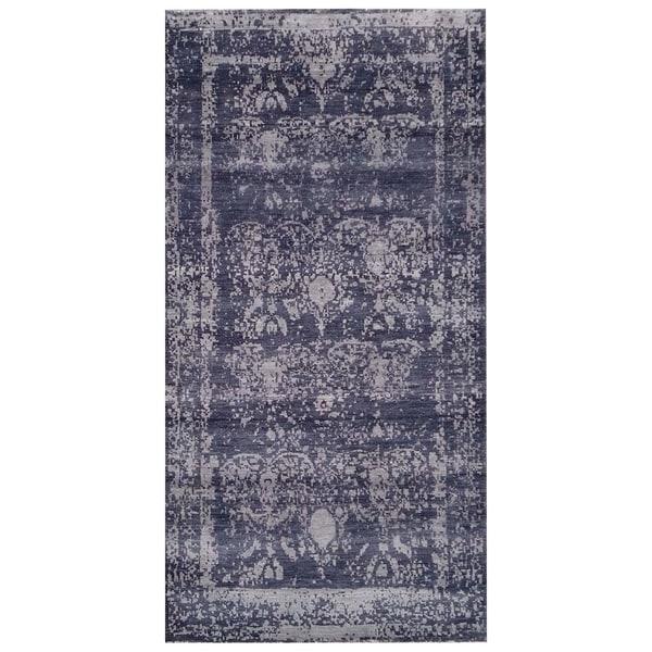 Handmade Mahal Wool Rug (India) - 9'9 x 13'