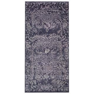 Handmade Mahal Wool Rug (India) - 9'9 x 12'7