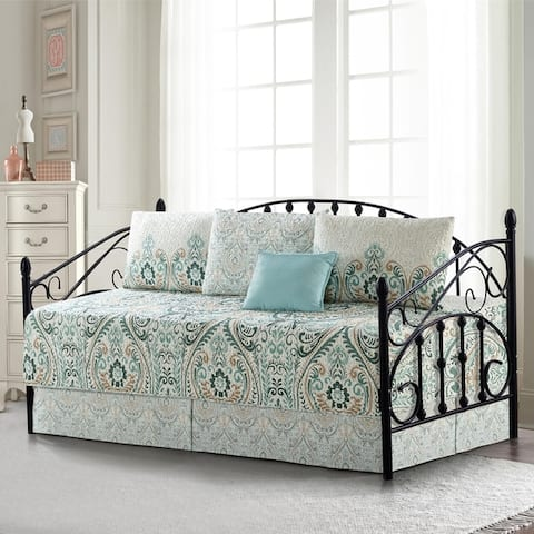 "Serenta 6 Piece Cotton Blend Daybed Bedspread Coverlet Set - 75"" x 39"""